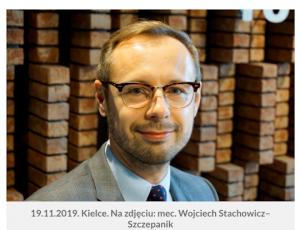 Audycja Radia Kielce z udziałem mec. Wojciecha Stachowicza-Szczepanik