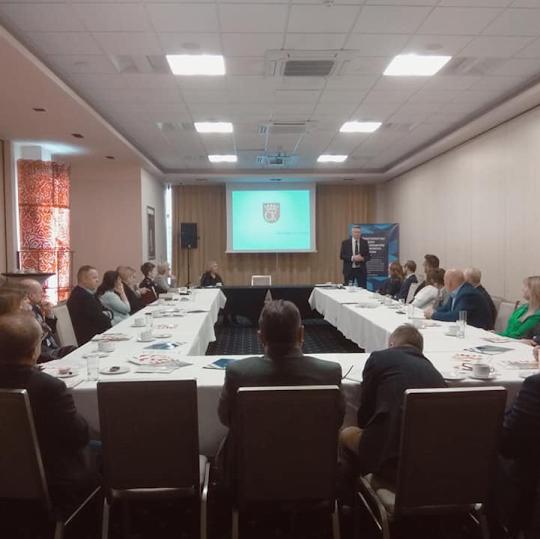 ŚZPP Lewiatan - spotkanie z Prezydentem Miasta Kielce Panem Bogdanem Wentą